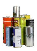Round liquid cans