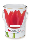 Conical paint cans