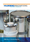 Product brochure putty cans