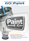 Paint and Go product brochure