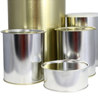 Seamed lid cans