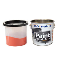 Paint and Go with tin liner
