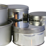 Putty cans and cans for wax